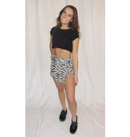 LEXI DREW Zebra Skirt