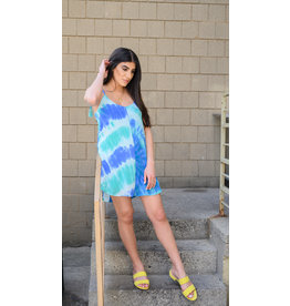 LEXI DREW Tie Dye Dress
