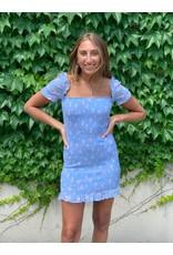 LEXI DREW Sky Flower Dress