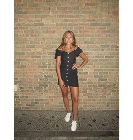 LEXI DREW Linen Dress