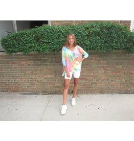 LEXI DREW Tie Dye Oversize Top