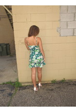 LEXI DREW Floral Scrunch Dress
