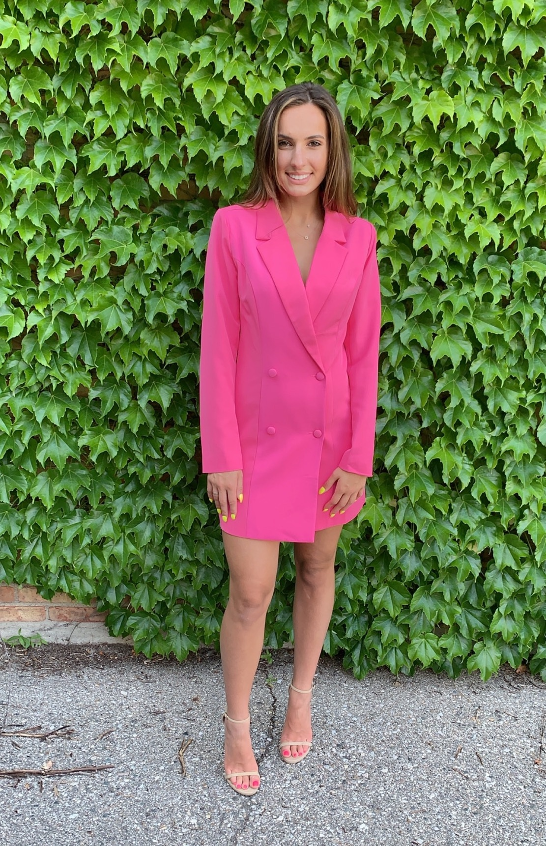 LEXI DREW Blazer Dress