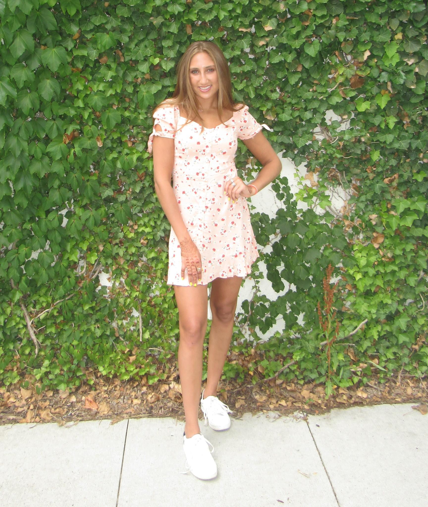 LEXI DREW Pink Floral Dress
