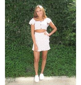 LEXI DREW Ditsy Skirt