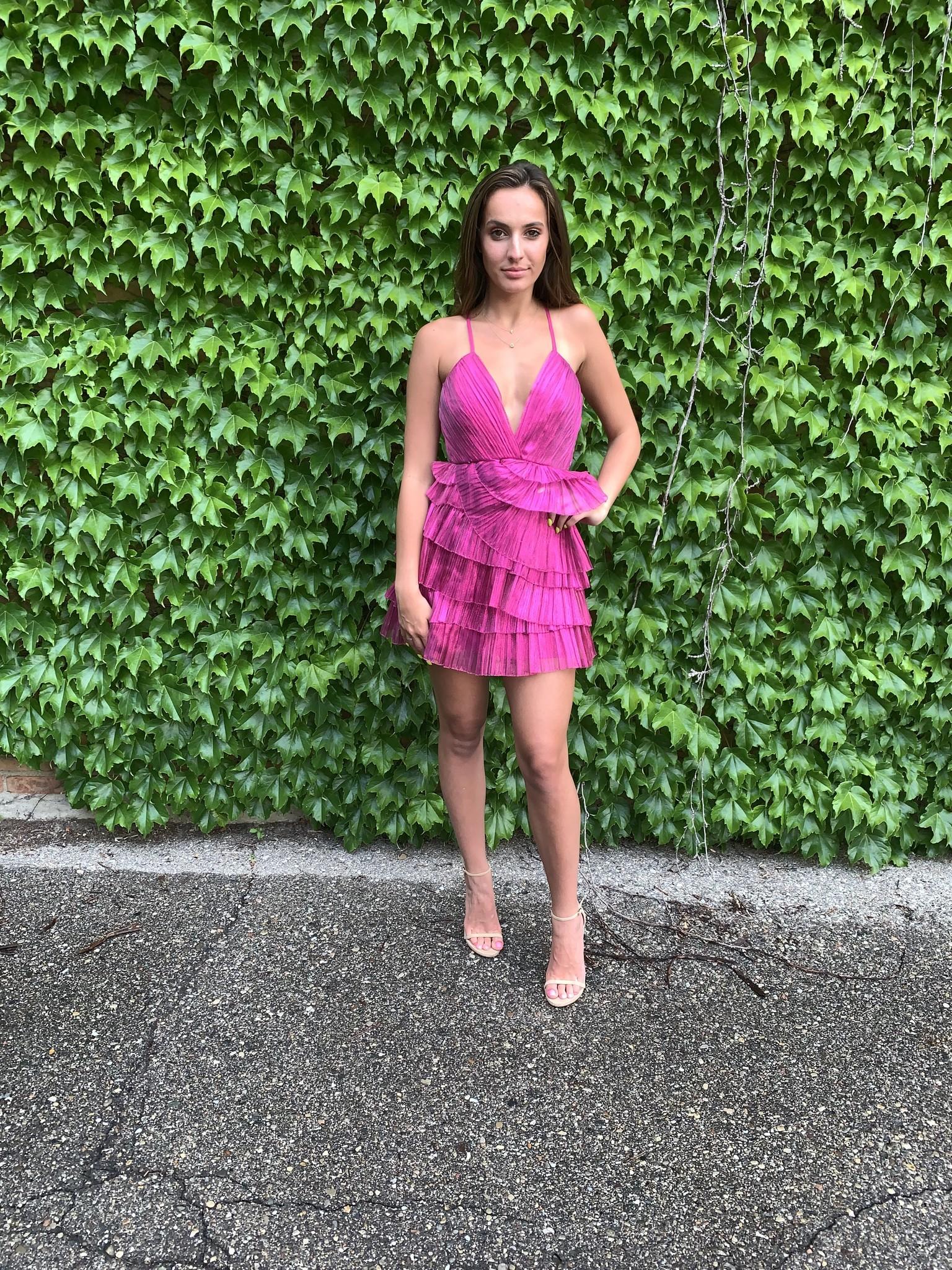 LEXI DREW Layered Dress
