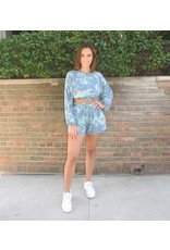 LEXI DREW Tie Dye Shorts