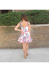 LEXI DREW Hibiscus Dress