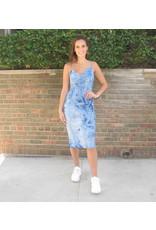 LEXI DREW Tie Dye Slip Dress