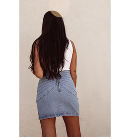LEXI DREW 8808 Denim Mini