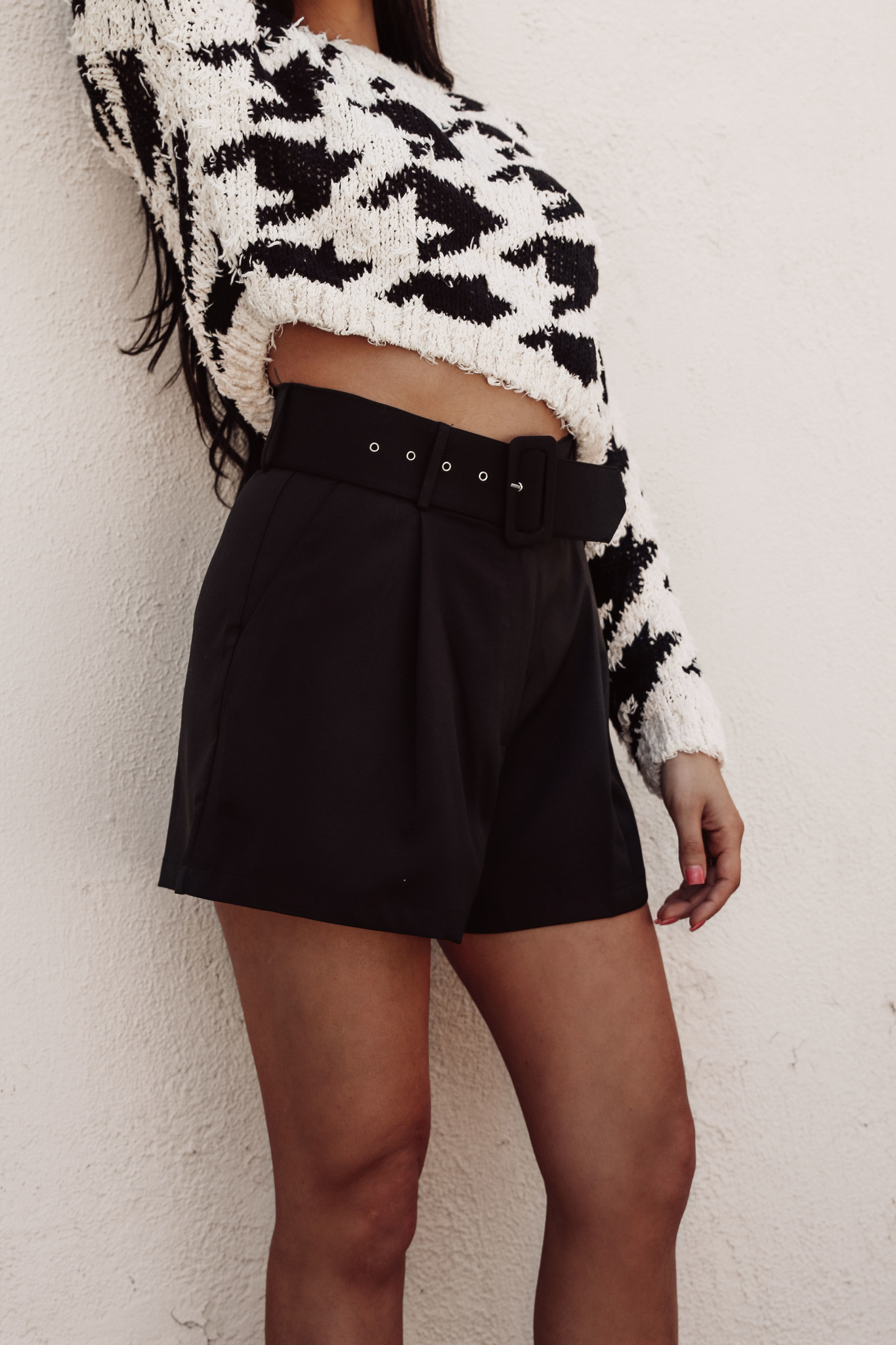 LEXI DREW 2137 Belted Shorts