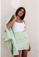 LEXI DREW 2557 Button Skirt