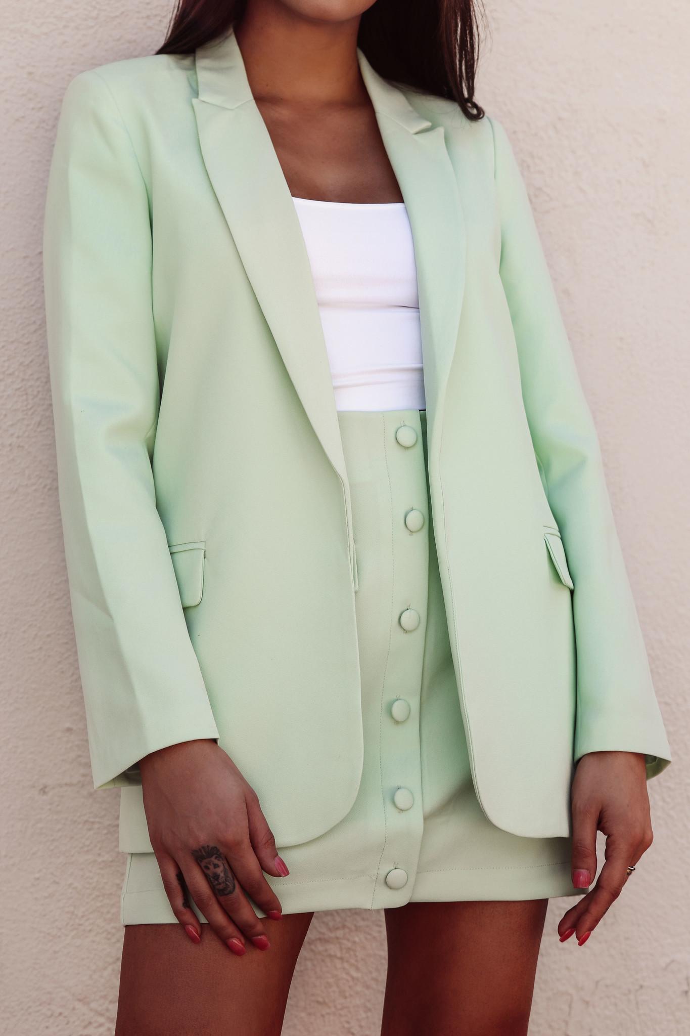 LEXI DREW 2557 Button Blazer