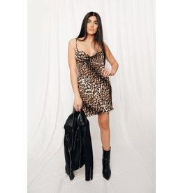 LEXI DREW 9996 Leopard Slip Dress