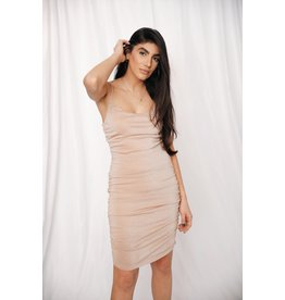 LEXI DREW 1137 Ruched Dress