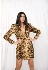 LEXI DREW 3285 Tiger Dress