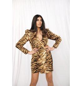 LEXI DREW 3285 Tiger Dress