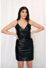 LEXI DREW 7937 Leather Dress