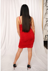 LEXI DREW 9601 Ruched Dress