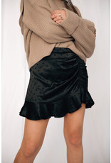LEXI DREW 1043 Dot Silk Skirt
