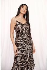 LEXI DREW Tiger Cowl Top