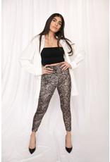 LEXI DREW 4484 Velvet Leopard Pant