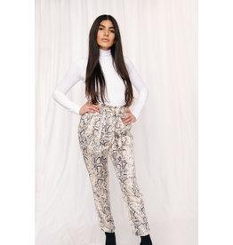 LEXI DREW 6383 Tie Snake Trouser
