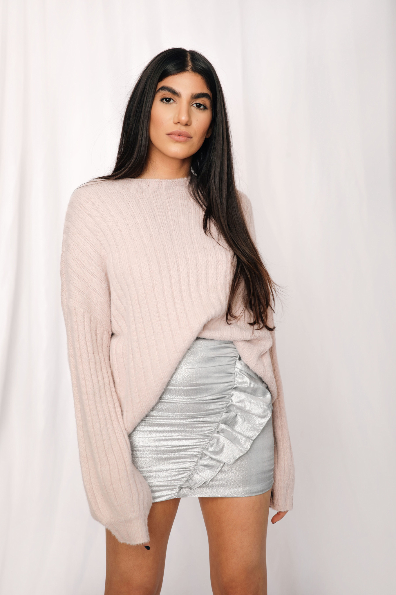 LEXI DREW 5101 Cable Sweater