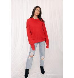 LEXI DREW 4195 Round Sweater