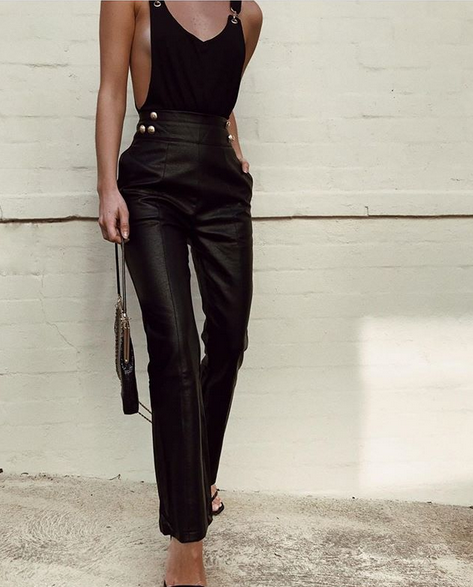 LEXI DREW 8806 Leather Pant