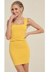 LEXI DREW 1214 Knot Mini Dress