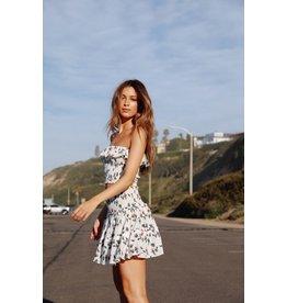 LEXI DREW 2041 Flower Ruffle Skirt