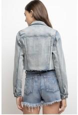 LEXI DREW 8786 Frayed Shorts