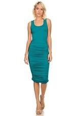 LEXI DREW 7029 Ruched Dress