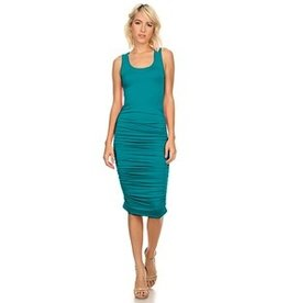 LEXI DREW 7029 Ruched Dress