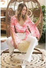 LEXI DREW 5866 Floral Shirt