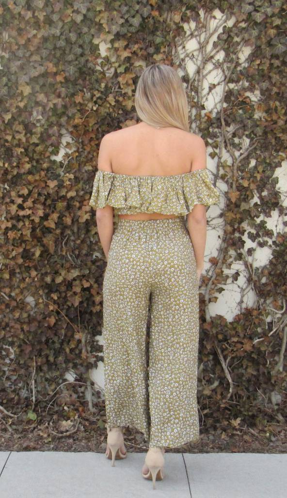 LEXI DREW Flower Pant Set