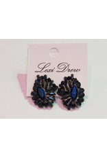 LEXI DREW Blue Crystal Earring