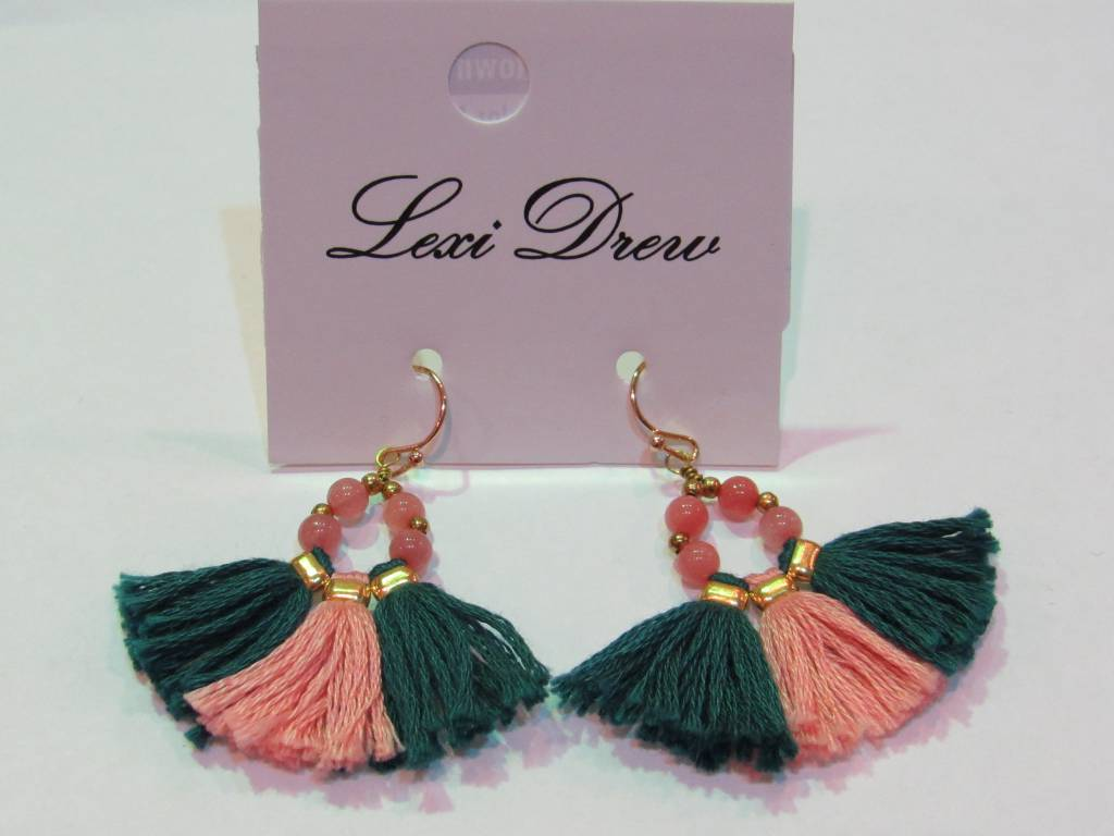 LEXI DREW Color Fringe Earring