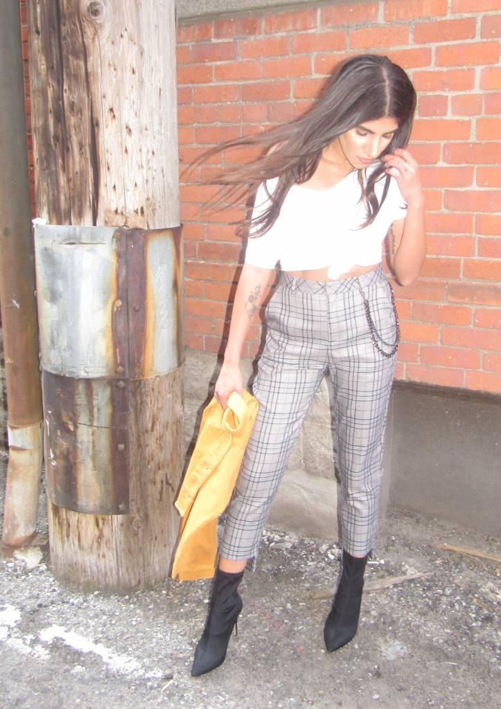 LEXI DREW Hem Chain Pant