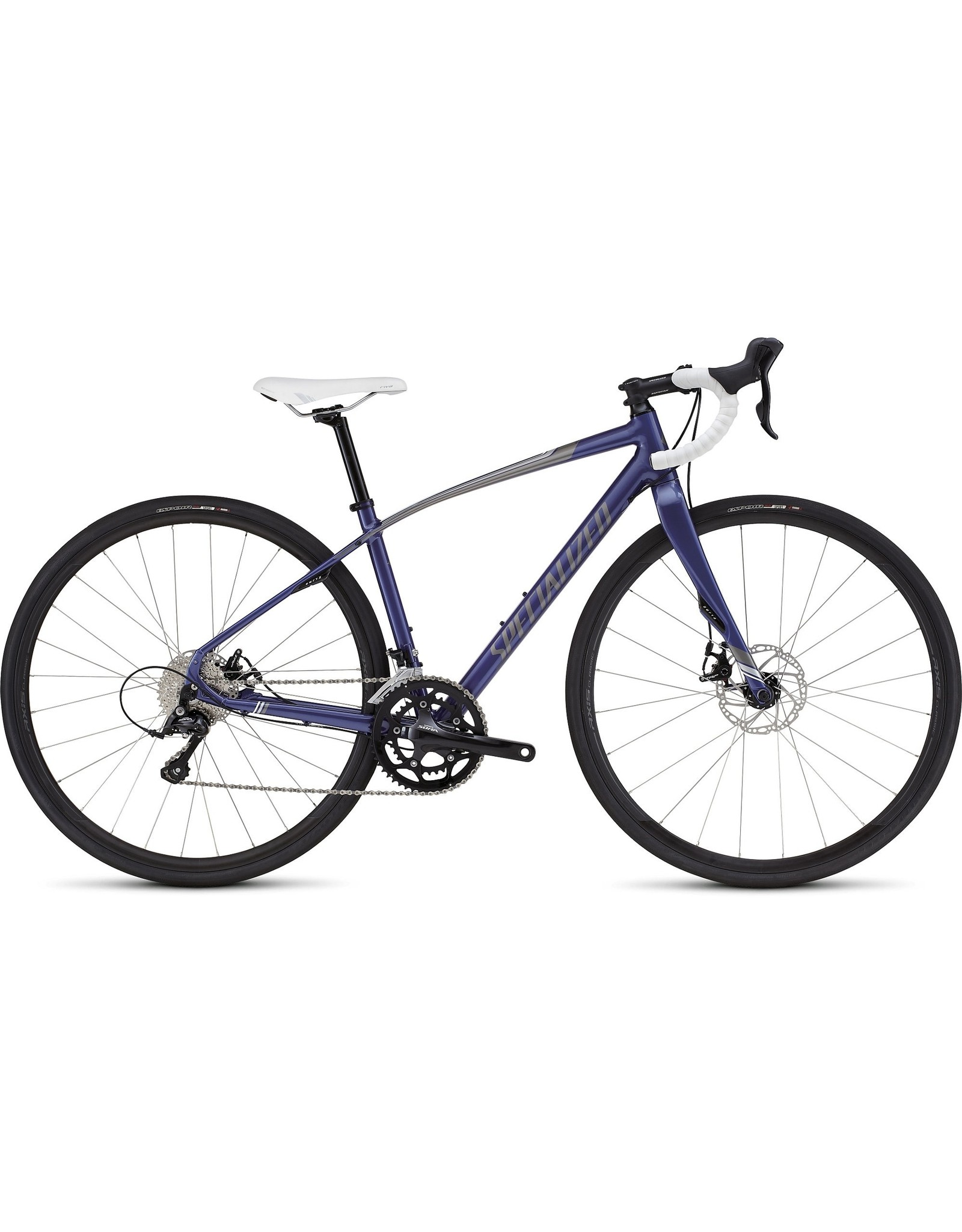 SPECIALIZED 2017 DOLCE SPORT DISC - Deep Pearl Indigo/Silver 48cm