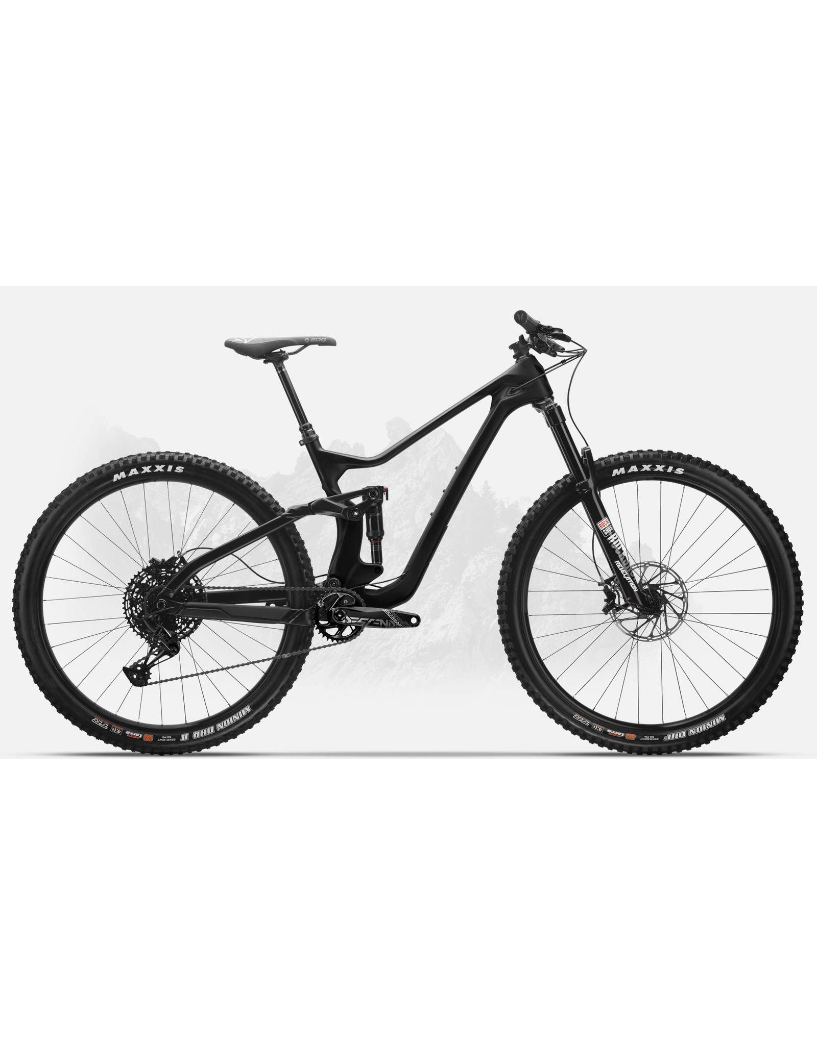 DEVINCI 2020 Troy 29 Carbon NX/GX black XL