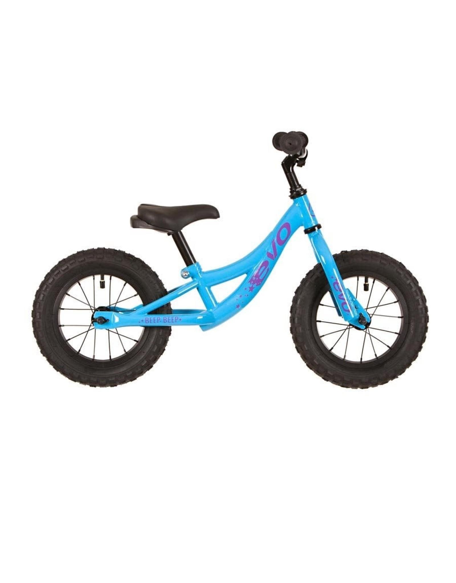 EVO EVO, Beep Beep Balance/Push Kids Bicycle, Mo Better Blue, Universal One-Size