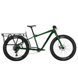 "SALSA 2021 Salsa Blackborow GX Eagle Fat Bike - 27.5"", Aluminum, Green, Medium"