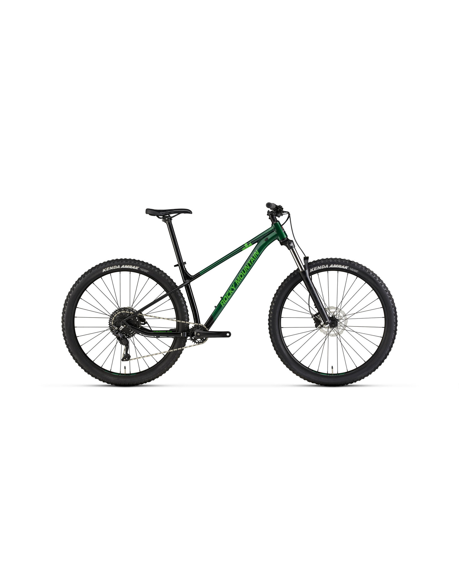 ROCKY MOUNTAIN 2021 Rocky Mountain Growler 20  - Black/Green - Large