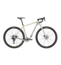 """SALSA 2021 Salsa Cutthroat Carbon Apex 1 Bike - 29"""", Carbon, Silver, 58cm"""