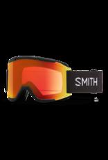 smith optics Smith Squad Goggles - Chromapop Everyday Red Mirror - Black