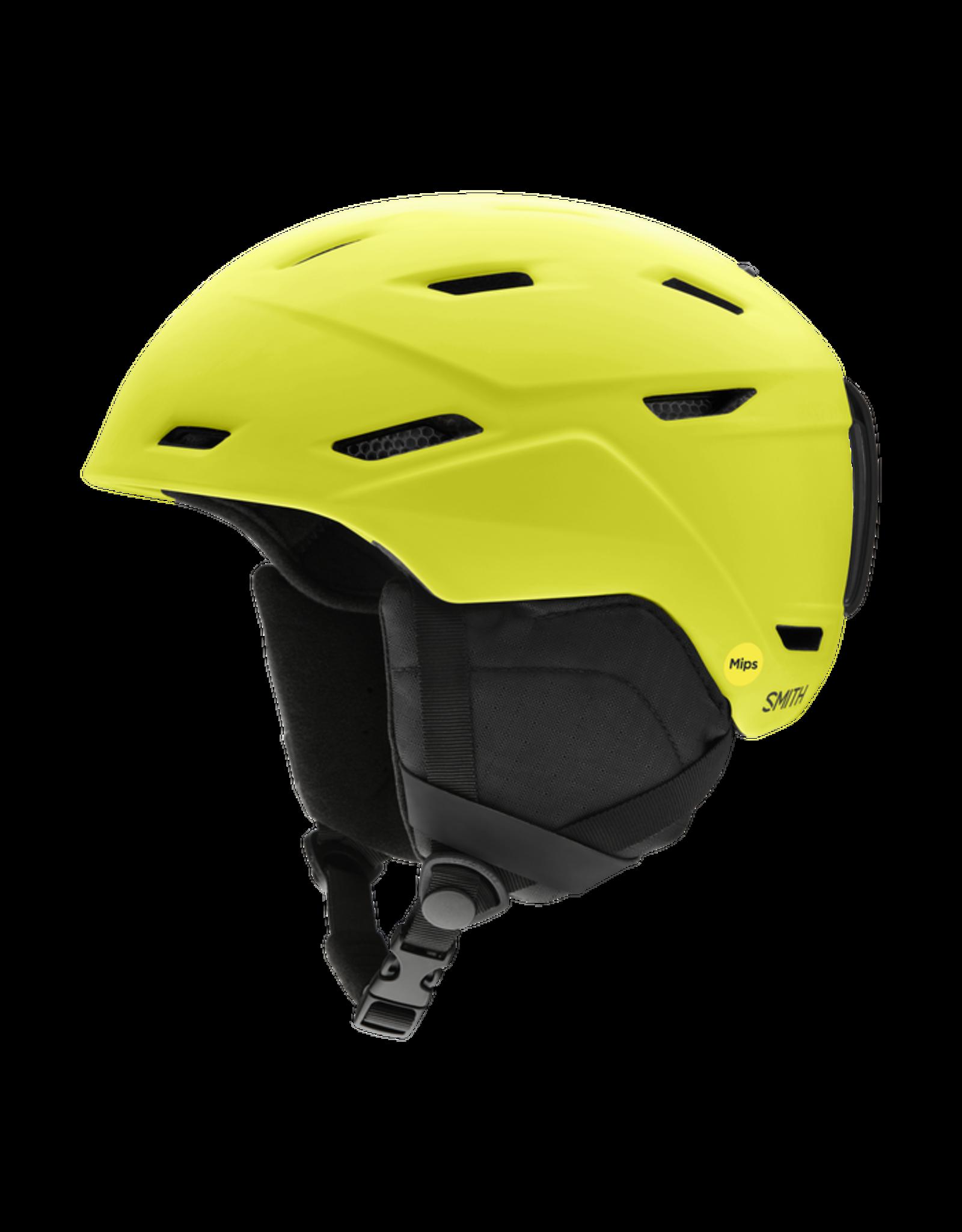 smith optics Smith Mission mips helmet - Matte Neon Yellow - Large 59-63cm