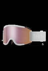 smith optics Smith Squad Goggles - Chromapop Everyday Rose Gold Mirror - White Vapor