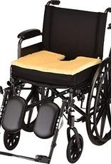 "Nova Nova Gel/Foam Seat Cushion With Coccyx Cutout & Fleece Top 18"" W X 16"" D X 3"" H"